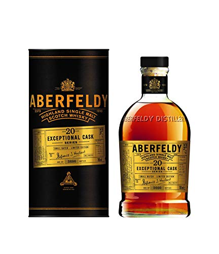 Aberfeldy 20 Jahre SMALL BATCH Exceptional Cask Serie Limitierte Auflage Single Malt Whisky (1 x 0.7 l)