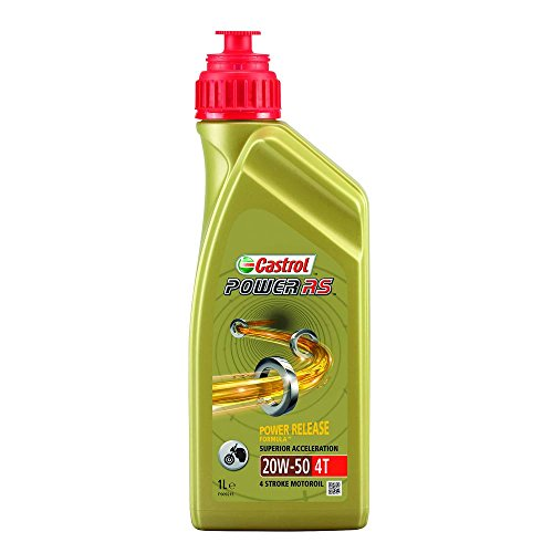 Castrol 1848095 Power RS 4T 20W50 Motorolie, 1 Liter