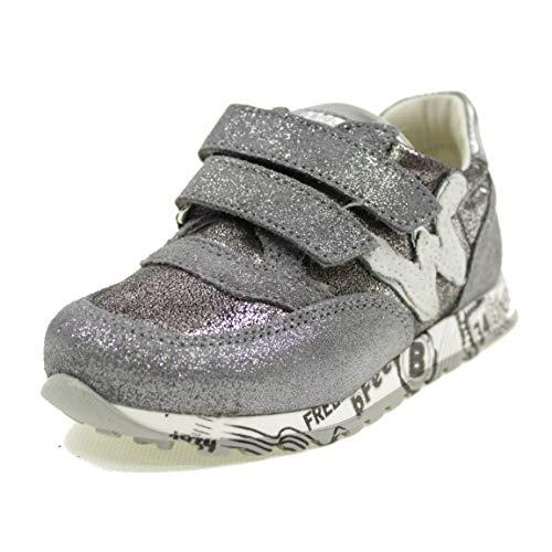BALDUCCI Zapatos Doble ABROJO B Feel Made IN Italy NIÑA BF1581A Plateado...
