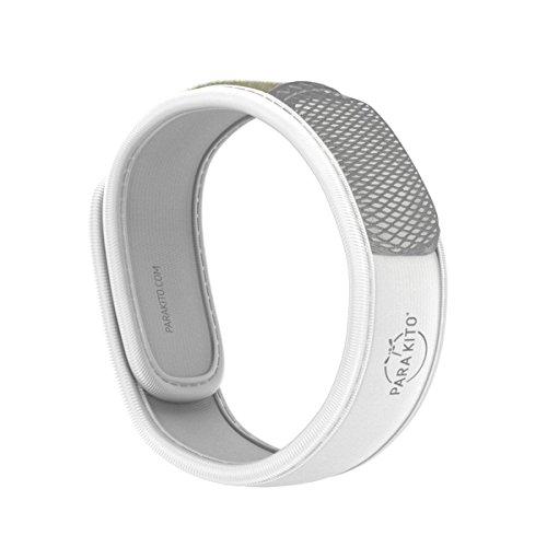 Para'Kito Mosquito Repellent Wristband - White