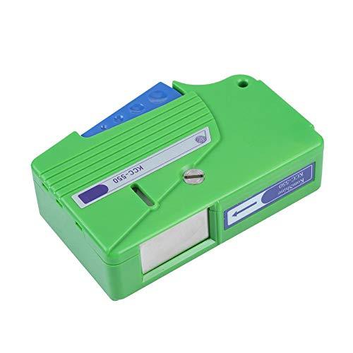 Tosuny Limpiador de Fibra óptica Caja Limpiador de Conector de Fibra óptica de Cinta de Casete para Conectores FC/SC/LC/MU/D4/DIN (más de 500 toallitas de Limpieza)