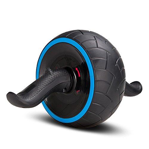 COVVY Fitness Bauchtrainer AB Carver Pro mit Knieauflage Für Fitness Bauchmuskeltraining Muskelaufbau Bauchroller für Frauen und Männer (Blau)