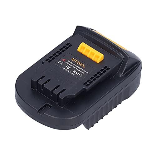 KUIDAMOS Conector de Montaje de alimentación por batería, Adaptador de batería de Estructura Estable para Herramientas eléctricas industriales