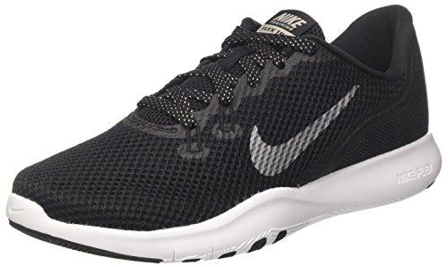 Nike Damen W Flex Trainer 7 Fitnessschuhe, Mehrfarbig (Black/MTLC Dark Grey 001), 40.5 EU