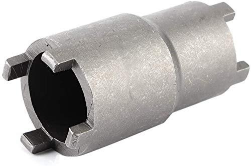 Schlüssel für Kupplungssicherungsmutter, 20 mm 24 mm Kupplungssicherungsmutter Abzieher Werkzeugschlüssel Steckschlüssel Passend für Honda Crf 600rr 450r Werkzeug