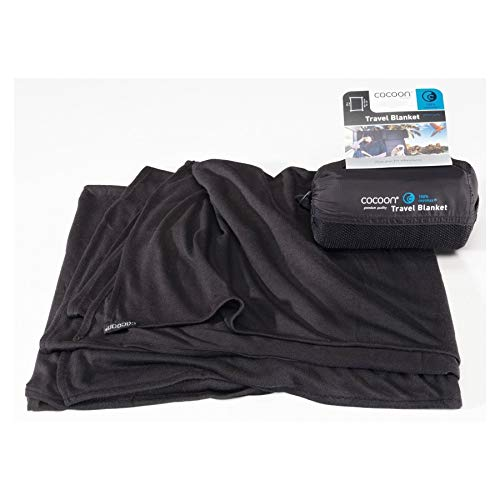 Cocoon Coolmax Travel Blanket (Black)