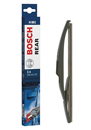 Bosch Rear H801 - Escobilla limpiaparabrisas, Longitud: 260mm – 1 escobilla limpiaparabrisas para la ventana trasera