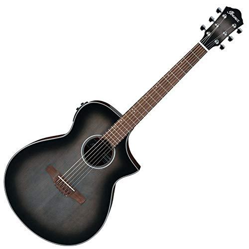 Ibanez AEWC11-TCB Elektroakustische Gitarre, Transparent Charcoal Burst
