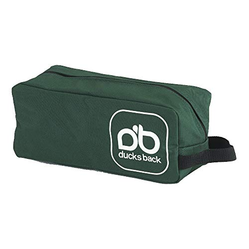 Ducksback Heavy duty peg bag for caravans, awnings, tents, camping, gazebos (Green)