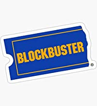 Blockbuster - Sticker Graphic - Auto, Wall, Laptop, Cell, Truck Sticker for Windows, Cars, Trucks