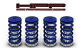 High Performance Parts Blue Lowering Coilover Spring Kit For Acura 90-01 Integra GS LS DC2 / 92–94 Vigor