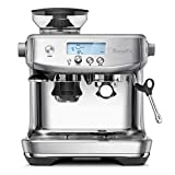 Breville L.P. BES878BSS Breville The Barista Pro Espresso Machine, Brushed Stainless Steel