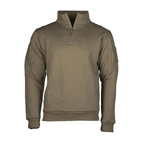 Copytec Bw Pullover Oliv Jäger Military Green Berufsbekleidung Herren Förster, Größe:L, Farbe:Oliv
