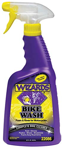 WIZARDS - Bike Wash, Professional High-Gloss Detailing and Surface Cleaner Spray (22 oz.)