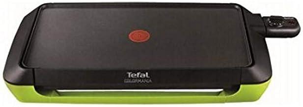 Tefal CB660301 Plancha Colormania Plaque Anti-Adhésive XL 6 à 8 Personnes Cuisson sans Ajout de Matière Grasse Thermo-Spot...