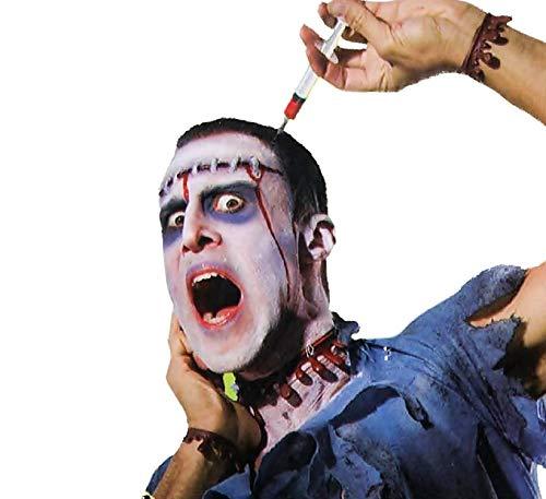 Legisdream Accesorios para el Cabello Diadema con una jeringa con Sangre Efecto Idea de Vestir Zombi