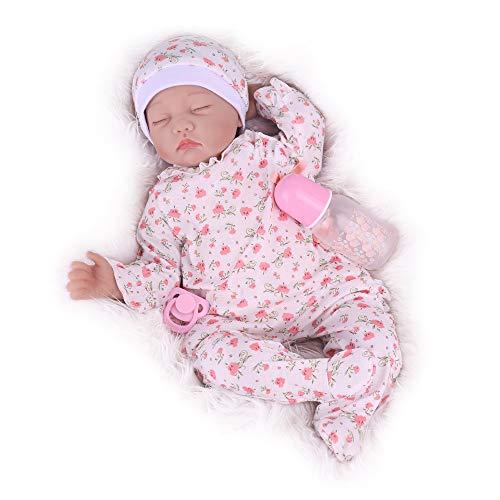 Kaydora Sleeping Reborn Baby Doll, 22 Inch Realistic Weighted Baby Newborn Girl