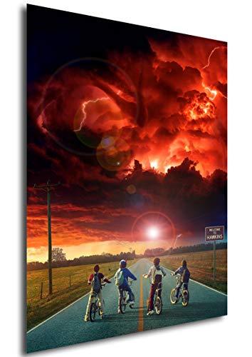 Poster Stranger Things (I) - Formato A3 (42x30 cm)