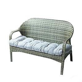 Coussin de Chaise Jardin-Fauteuil ou transat terrasse ou Balcon,Coussin Exterieur pour Salon de Jardin,pour Banc de…
