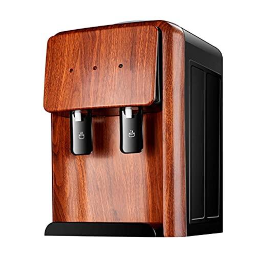CDPC Dispensador de Agua eléctrico, máquina de Bebidas de Agua de encimera, Mini dispensador de Agua de Escritorio, Grifo para Escritorio, encimera, Uso en la Oficina en casa