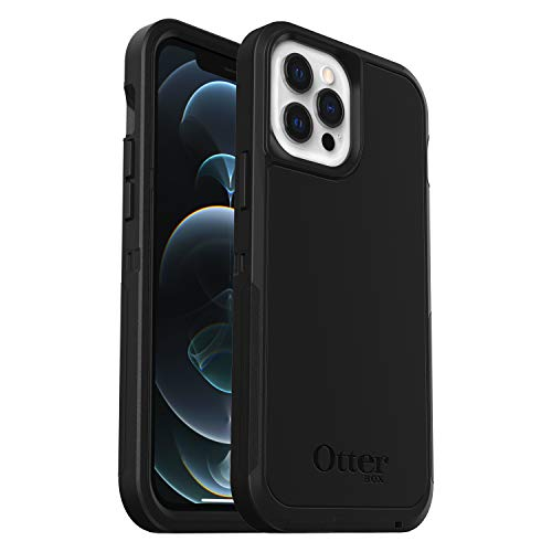 OtterBox Defender XT, Rugged Protection with MagSafe for iPhone 12 Pro Max - Black - Non-Retail Packaging