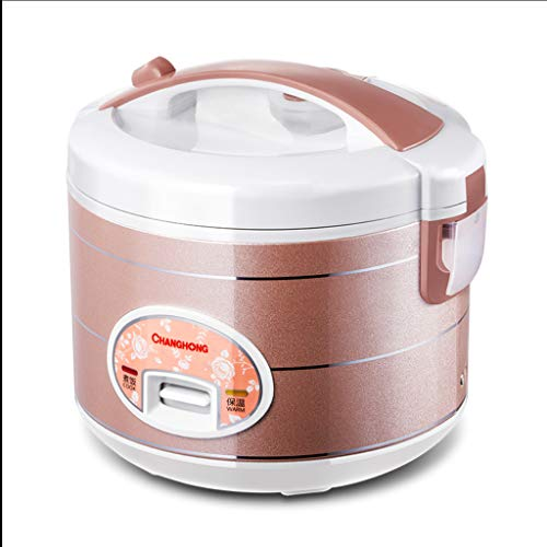 Fantastic Prices! Multifunctional Household Mini Rice Cooker, 3L Capacity Rice Cooker With Handle, Rice maker and Warmer with alloy inner pot