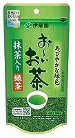 ITO-6492 リーフ お~いお茶 抹茶入り緑茶 ( 100g 10本)