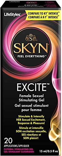 Lifestyles Excite Female Stimulating Gel 0.50 oz (Pack of 4)