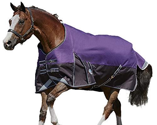 Weatherbeeta Comfitec Plus Dynamic Standard Neck Blanket Medium/Lite Purple/Black 78'