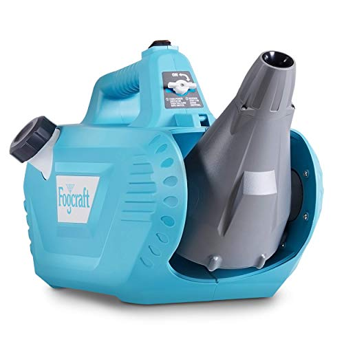 FogCraft Fogger Machine ULV Sprayer Disinfectant Electric Handheld Corded 2GAL 120VAC 60Hz Mist Duster Blower Adjustable Particle Size 0-50um/Mm