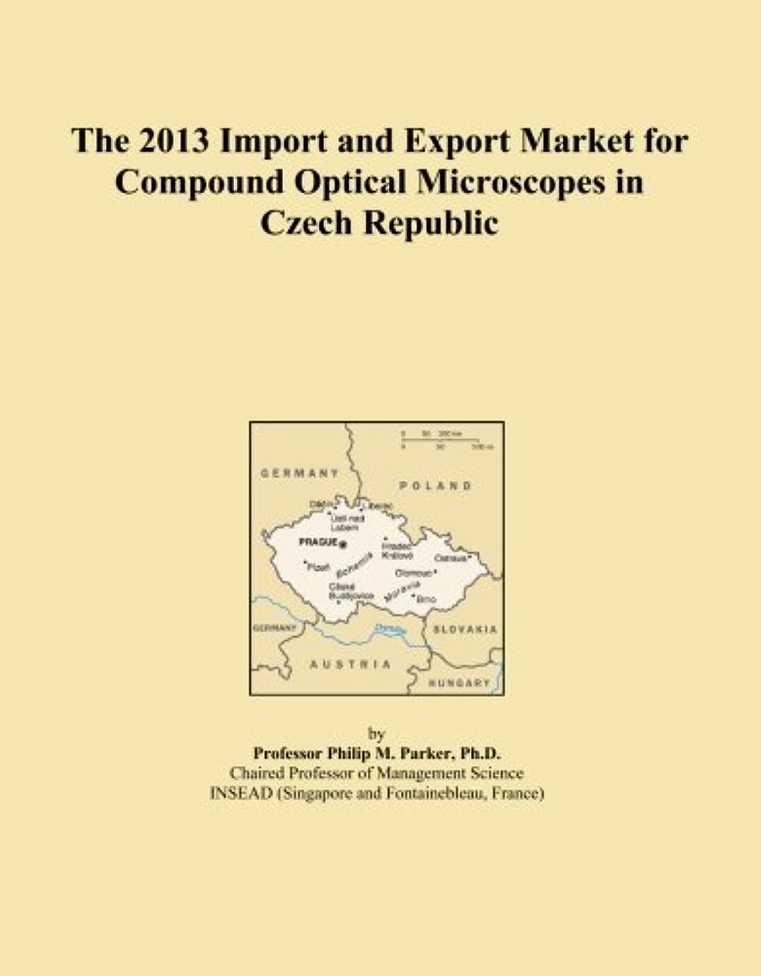勝者公平神のThe 2013 Import and Export Market for Compound Optical Microscopes in Czech Republic