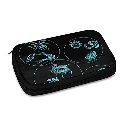 Microscope Slides Electronic Organizer Travel Cable Organizer Cases Electronics Accessories Storage Bag for USB,Sd Cards,Chargers