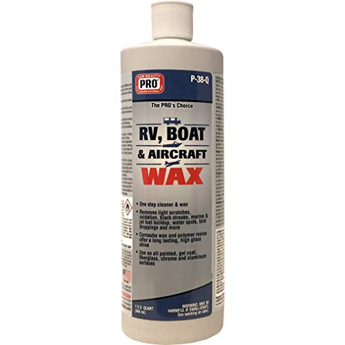 PRO Car Beauty Products RV, Boat & Aircraft Wax