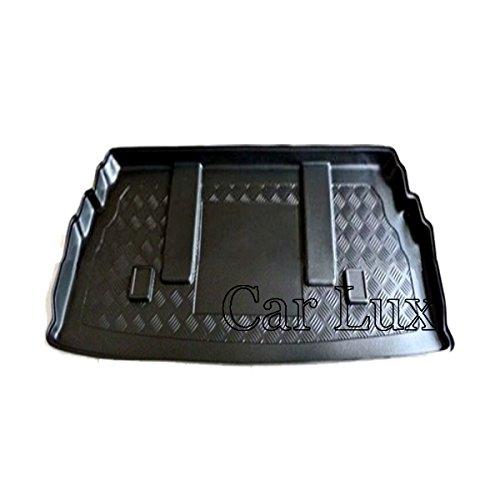 Car Lux AR02441 - Alfombra Bandeja Cubeta Protector Cubre Maletero a Medida para Rodius