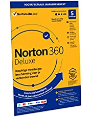 Norton 360 Deluxe 2020 | 5 Apparaten | 1 Jaar abonnement met automatische verlenging | Secure VPN en Password Manager | PCs, Macs, tablets en smartphones