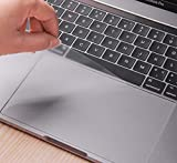 (2Pack) Kratzfest Trackpad Schutzfolie Cover Haut mit Klar Folie Touch Pad Bildschirmschutzfolie MacBook Pro 33cm mit Touch Bar oder Nicht Touch Bar Modell A1706, A1708Ultra Clear