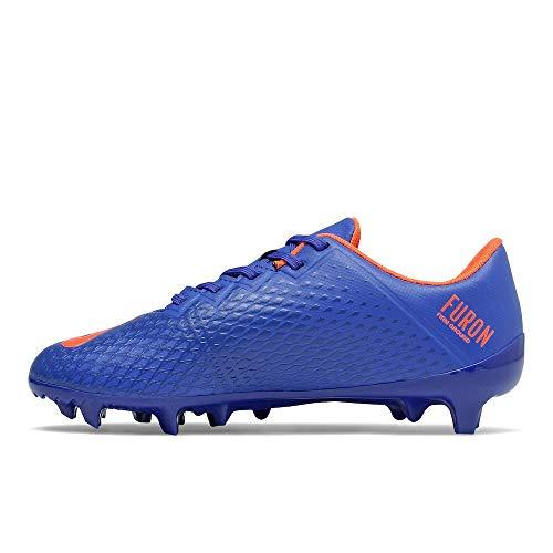 New Balance Furon Dispatch Firm Ground V6 Soccer Shoe, Cobalt, 2.5 US Unisex Little Kid