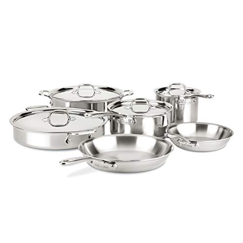 All-Clad D3 Compact Stainless Steel Dishwasher Safe <a href=