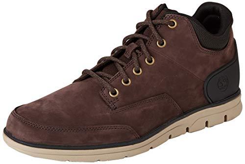 Timberland Herren Bradstreet Chukka Molded Sneaker Halbhoch, Braun Dark Brown Nubuck, 44 EU