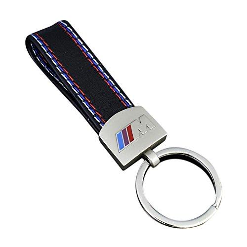 Paul03Daisy Modischer Schlüsselanhänger, Schlüsselring für Auto aus Metall, für BMW M M3 M5 E36 E39 E60 F10 F30 X1 X3, Auto-Schlüsselanhänger, Universal-Zubehör, silber