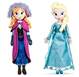 wyxin 2Pcs Película Frozen 2 Elsa & Anna Princess Peluches Muñecas Regalo De Cumpleaños para Niñas 4...