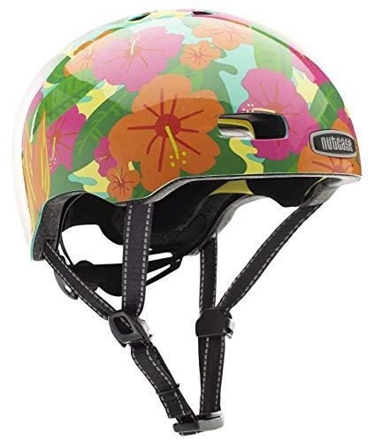 Nutcase Street - Tropics Helm, Mehrfarbig, M