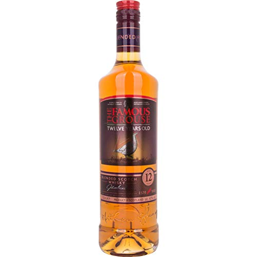 The Famous Grouse 12 Years Old Blended Scotch Whisky 40,00% 0,70 Liter