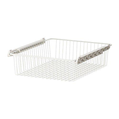 Ikea STUVA GRUNDLIG–Cesta de Alambre, Blanco–60x 49x 13cm