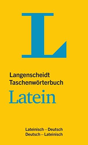 Langenscheidt Taschenwörterbuch Latein: Lateinisch-Deutsch/Deutsch-Lateinisch (Langenscheidt Taschenwörterbücher)