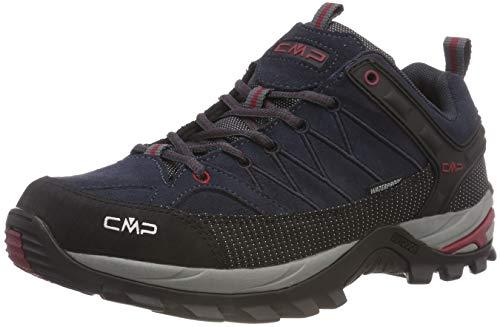 CMP Herren Rigel Low Shoes Wp Trekking- & Wanderhalbschuhe, Grau (Asphalt-Syrah 62bn), 44 EU