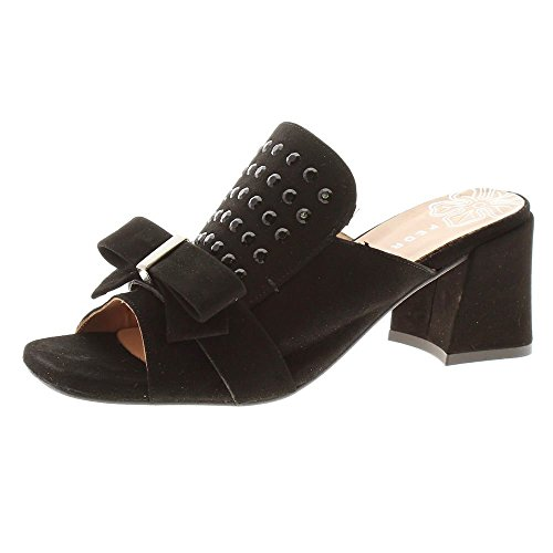 Zapatos Mujer Zuecos Mules Pedro Miralles 18377 Negro 38