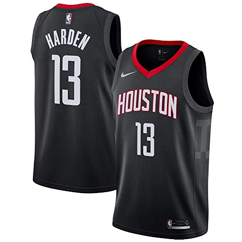 Nike James Harden Houston Rockets #13 Youth 8-20 Black Statement Edition Swingman Jersey (Medium)