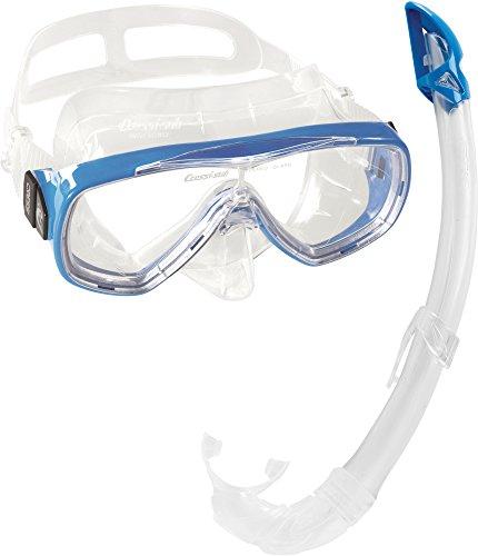 Cressi Maske/Schnorchel Set Onda Mare Juego de snorkel, Unisex, Azul