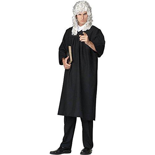 Judge Robe Adult Standard Costume, Size 36-40